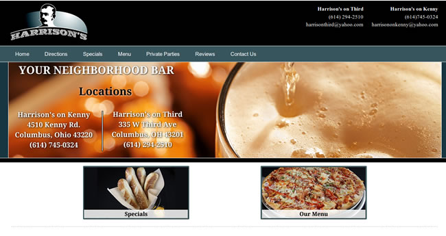 Website Spotlight – Harrisons