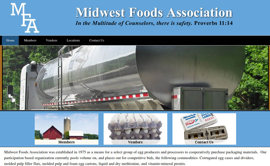 CMS Membership Roles – Our Client Midwest Foods Assoc.